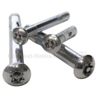 G2 KryptoMax® Stainless Steel tamper resistant button head concrete anchors various sizes